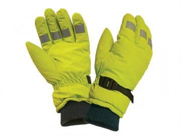 Hi-Visibility Gloves  Yellow - L
